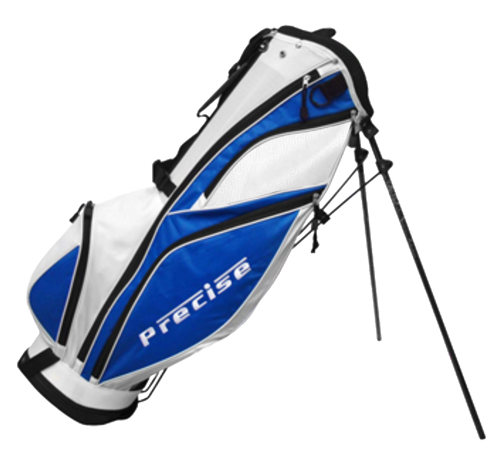 Precise MDX II Golf Stand Bag, Blue