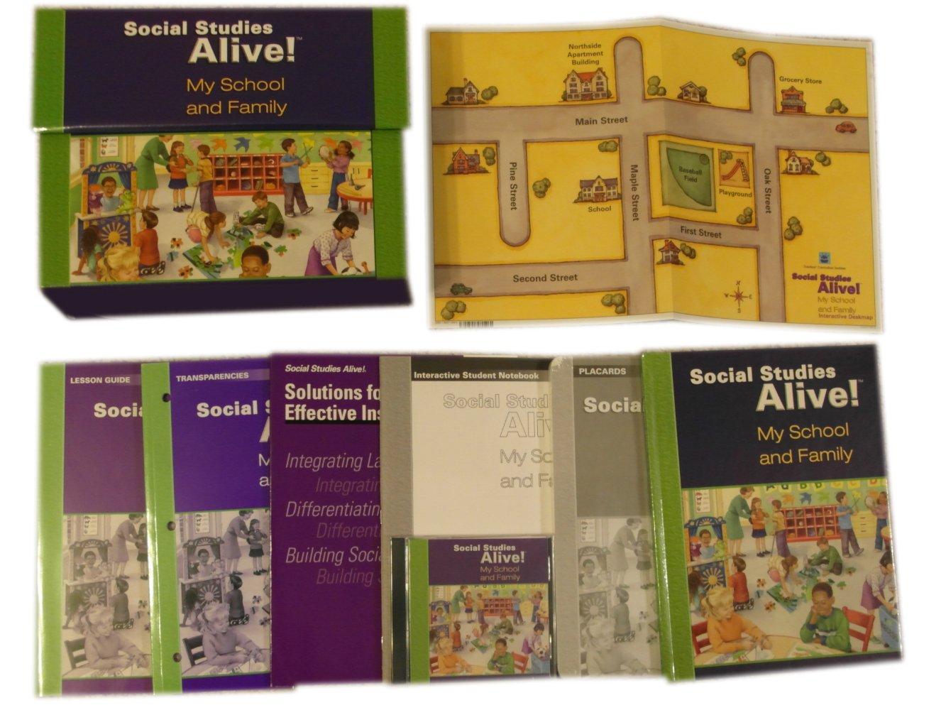 Read Online Social Studies Alive! My School and Family Set PDF ePub fb2 book