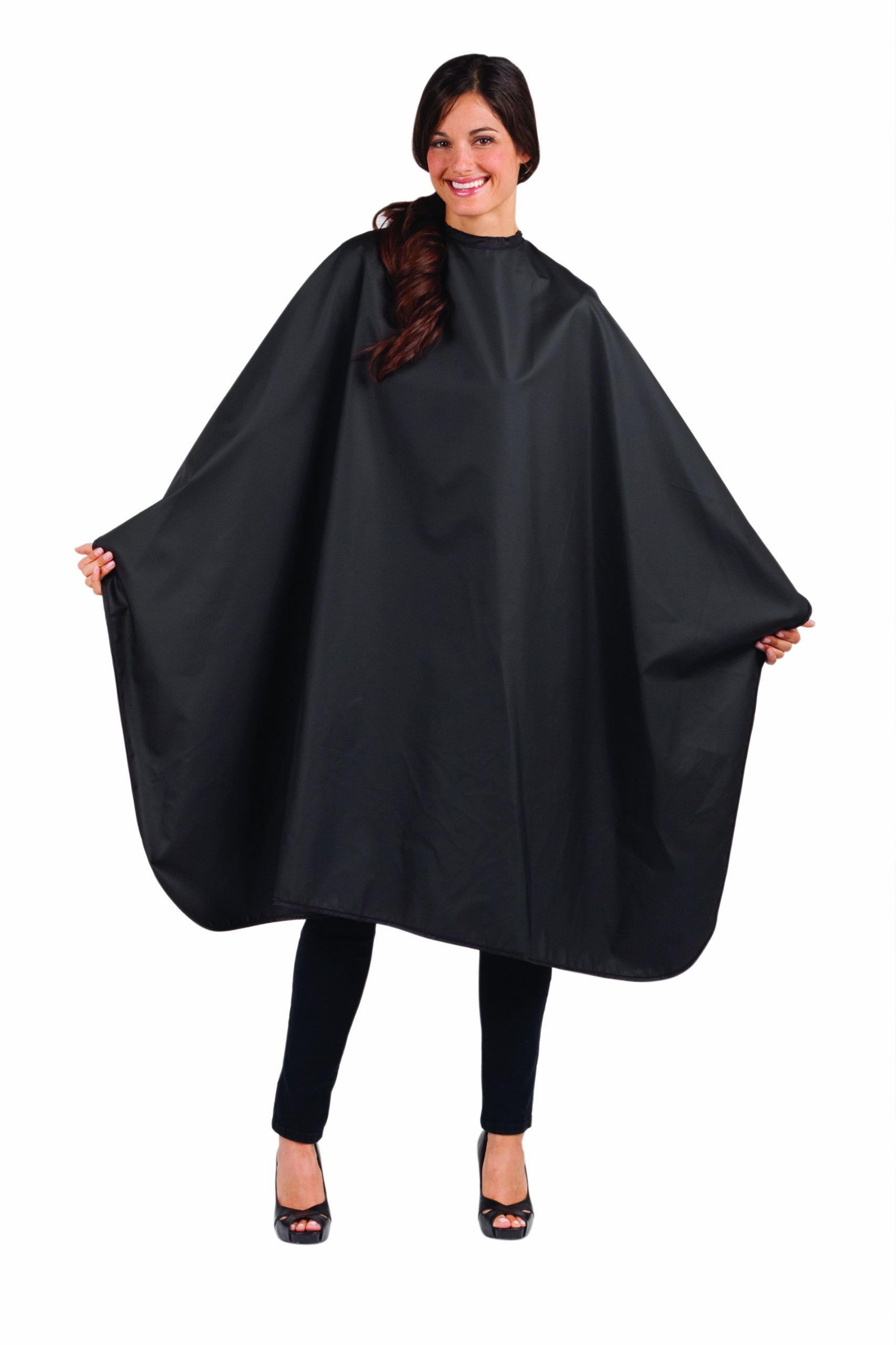 Betty Dain Signature Mirage Chemical-proof Coloring/Styling Cape, Black by Betty Dain