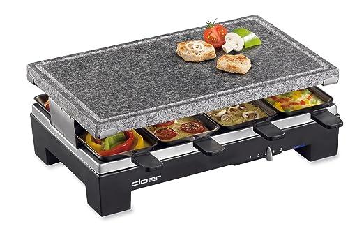 Cloer 6420 Raclette con parrilla de piedra natural - 230 MB/s ...