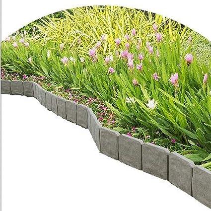 amazon com gt garden border edging stone edge landscape plastic