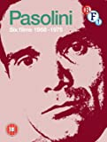 Pasolini Six Films 1968 - 1975 (7-Disc set) (Blu-ray + DVD)