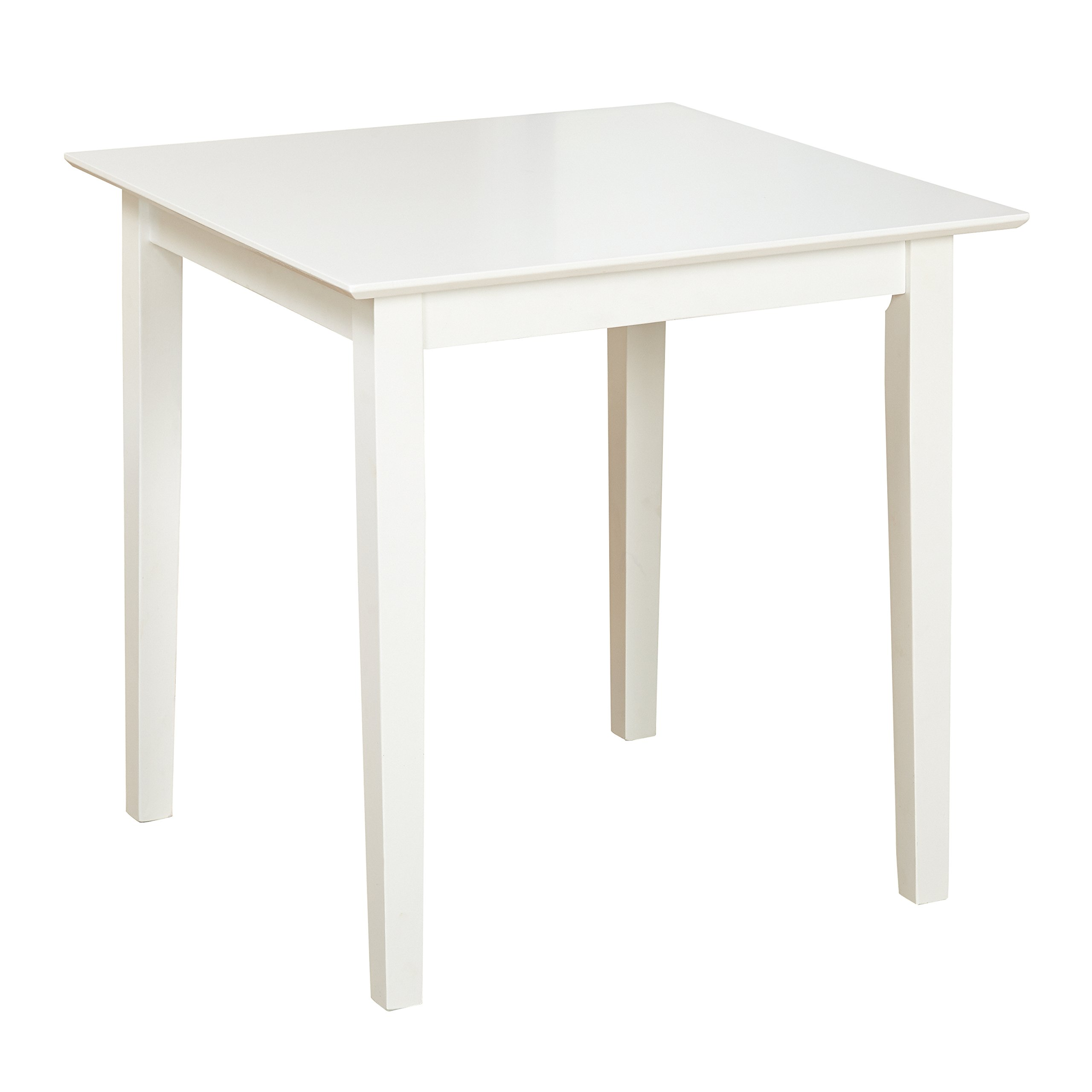 Target Marketing Systems 40607WHT Udine Dining Table, White