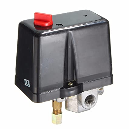 MASUNN 1/4Inch Bsp 380V 160Psi Compresor De Aire Interruptor De Presión De Una Sola