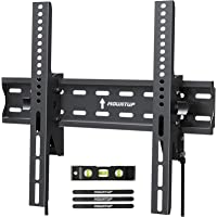 MOUNTUP Tilting TV Wall Mount Bracket for 26-55 Inch Flat Screen TVs/ Curved TVs, Low Profile TV Wall Mount TV Bracket…