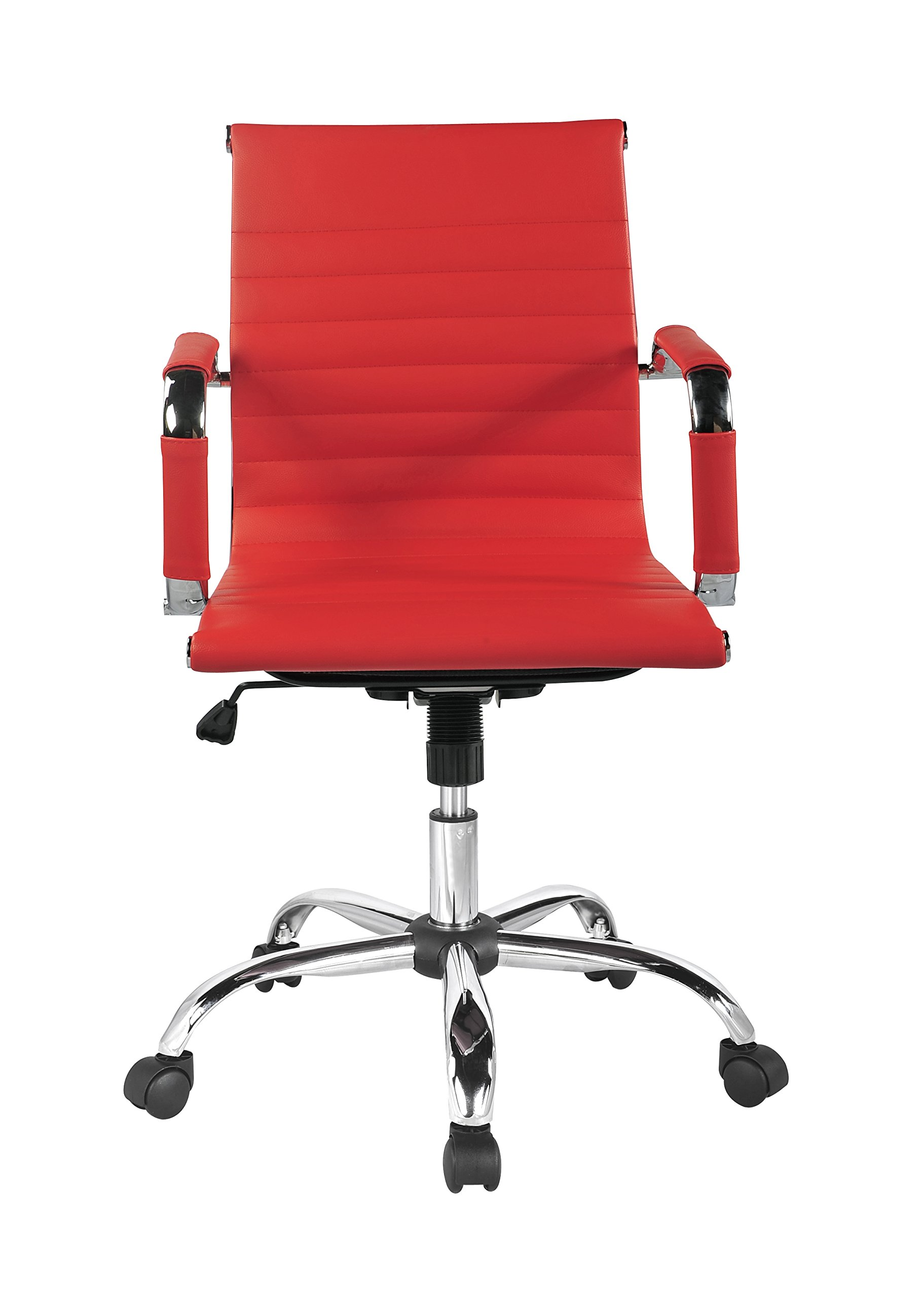 Winport Furniture TB-1963 WTB-1963 Office Chair, Red