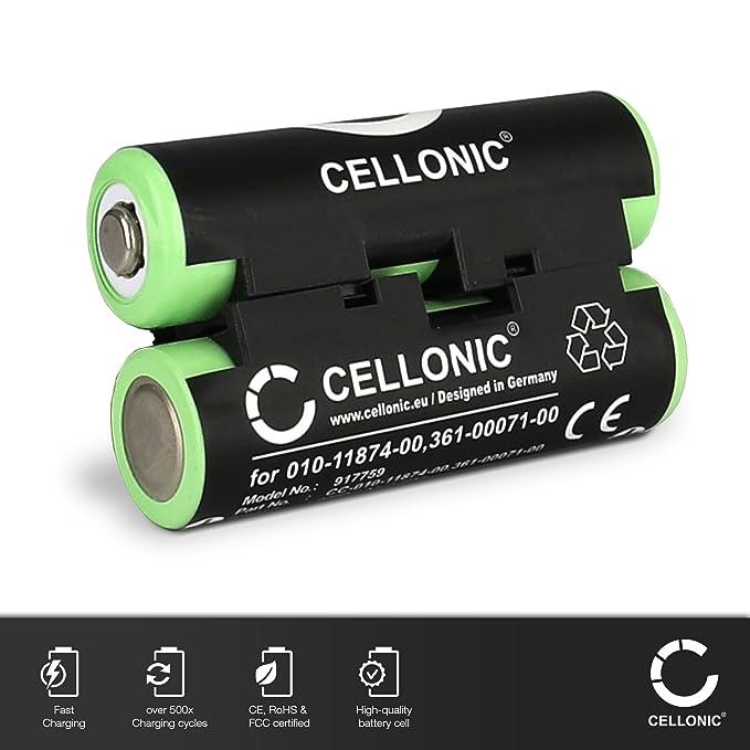 CELLONIC® Batterie Compatible avec Garmin Oregon 600 600t 650 650t Oregon 700 750 750t GPSMAP 64 GPSMAP 276CX Alpha 50 Atemos 50 Astro 430 Approach 4X ...
