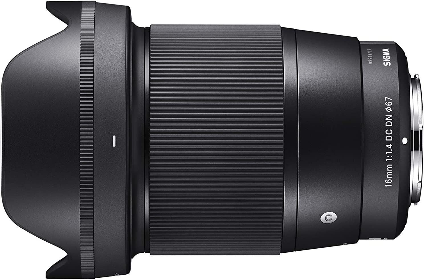 Sigma 16mm F1 4 Dc Dn Contemporary Objektiv Für Canon Kamera