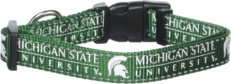 Michigan State Spartans Premium Small Dog Collar