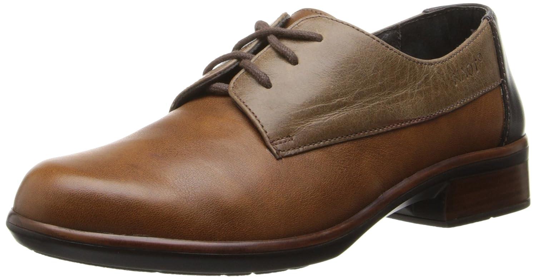 NAOT Women's Kedma Oxford B0072L257Q 40 EU/9-9.5 M US Chestnut Leather/Hazelnut Leather/French Roast Leather