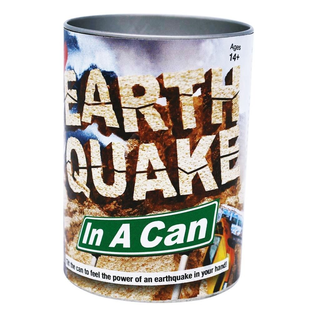 Tedco Toys Earthquake In A Can 80977Crazy Shaking Fun For Ages 14+