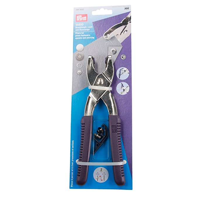 Prym 390 900 Vario - Tenazas con herramienta de perforar: Amazon.es: Hogar