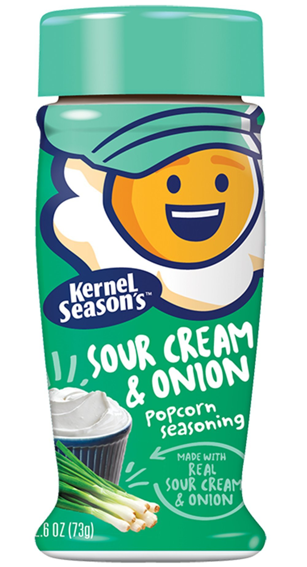 Kernel Season's Popcorn Seasoning, Sour Cream & Onion, 2.6 ounce (Pack of 6)