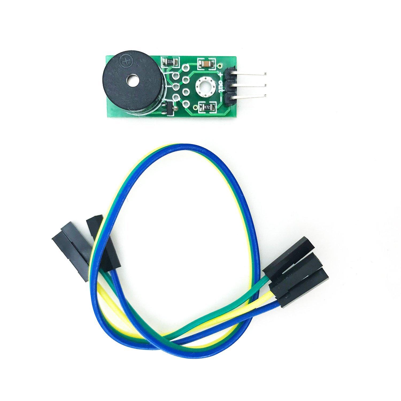 Amazon com: FTCBlock 3pcs Loud Active Piezo Buzzer Sound