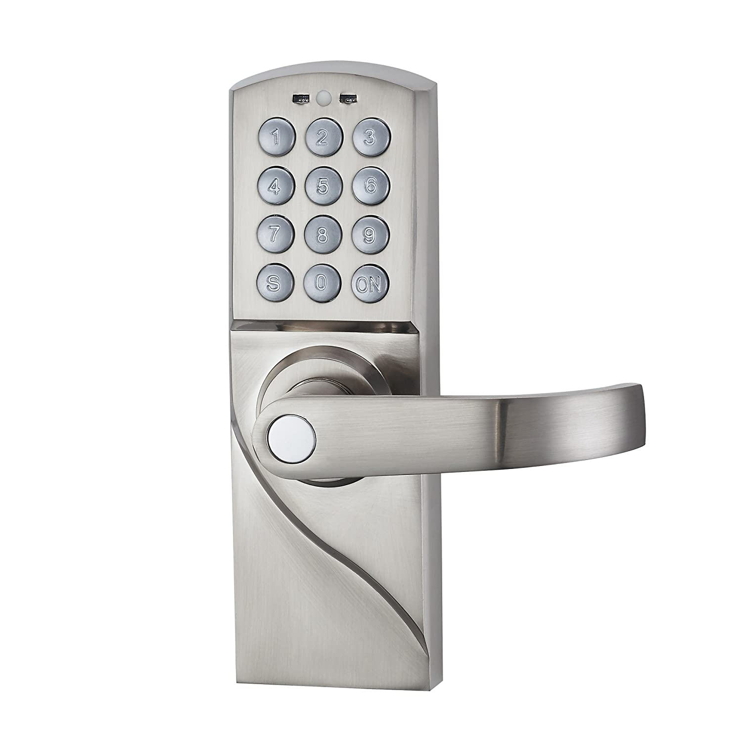 Schlage Fe575 Ply 626 Ela Plymouth Keypad Entry With Auto Lock And How To Build Electronic Security Door Key Haifuan Right Hand Digital Backup Keys Keyless By Password Code Combinationfor Handed Doors Only