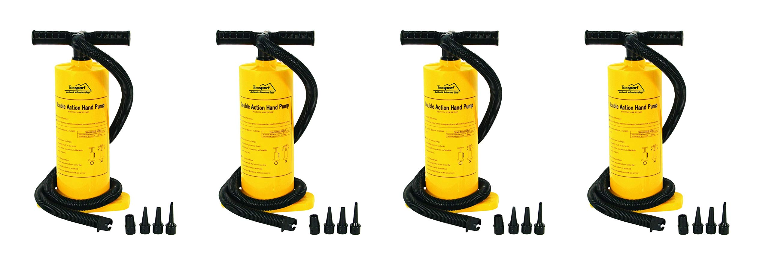 Texsport Double Action Hand Pump for Air Mattress by Texsport