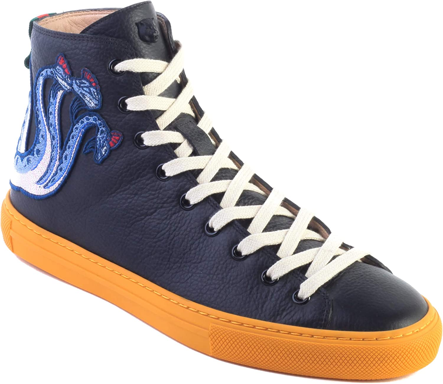 Embroidered Dragon Sneaker Black Shoes