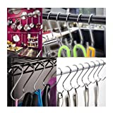 10-Pack S-Hooks Hanging Hooks Hangers Stainless