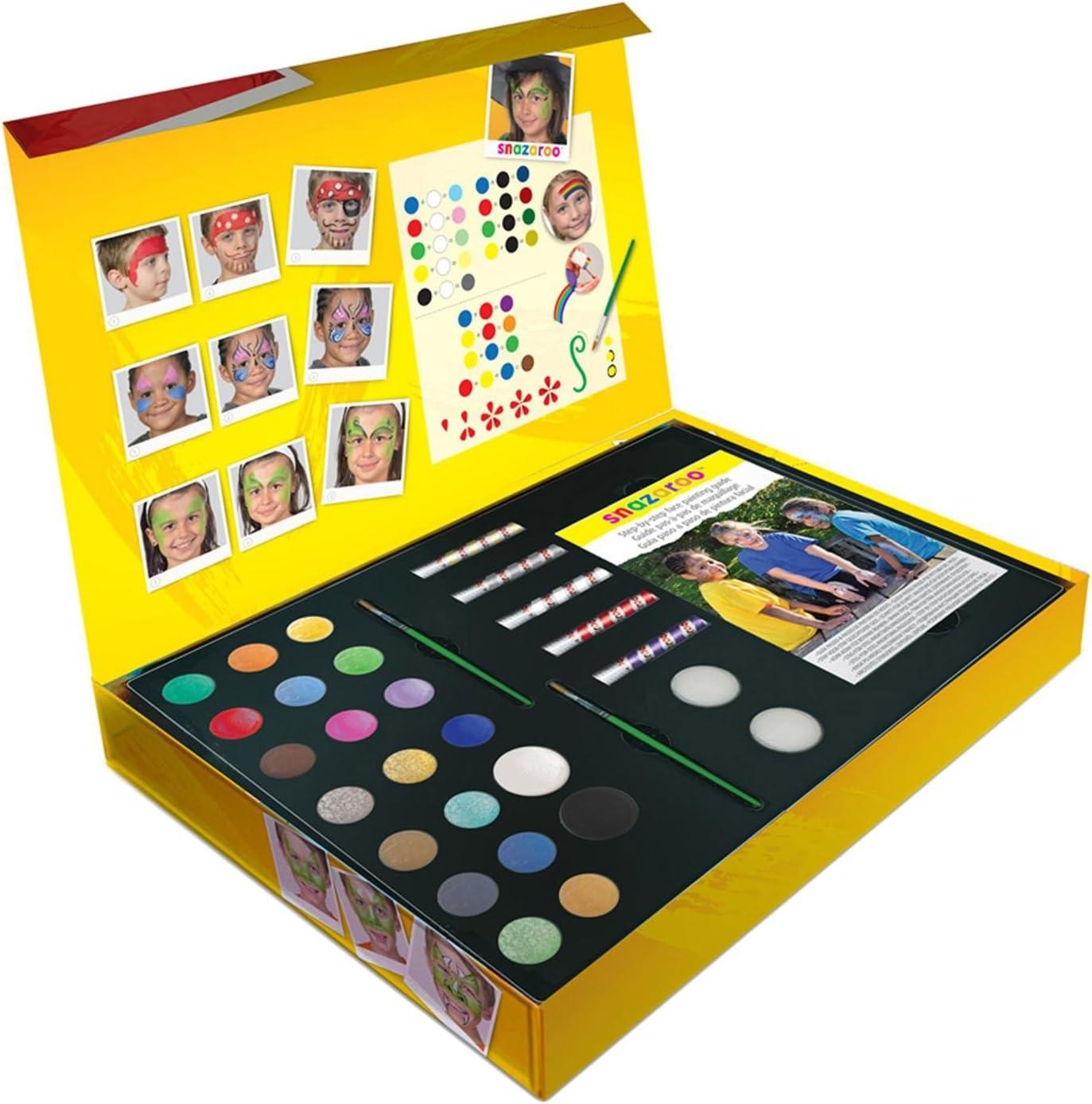 Snazaroo Ulitimate Pintacaras 36 Piezas De Este Conjunto: Amazon.es: Juguetes y juegos