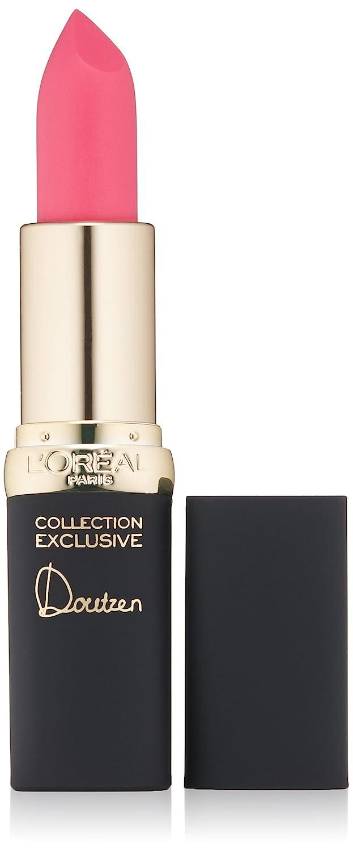 L'Oréal Paris Colour Riche Collection Exclusive Lipstick, Doutzen's Pink, 0.13 oz.