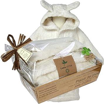 eafd4421863800 出産祝いにオーガニックコットン ベビーバスローブ ナチュラル(出産祝いギフト包装) (74