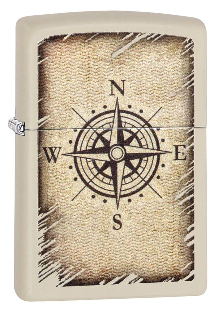 Zippo 60004086 Compass Design Accendino