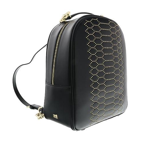 bcd218075038 Class Roberto Cavalli Black Viper Lux 006 Backpack: Amazon.ca: Shoes &  Handbags