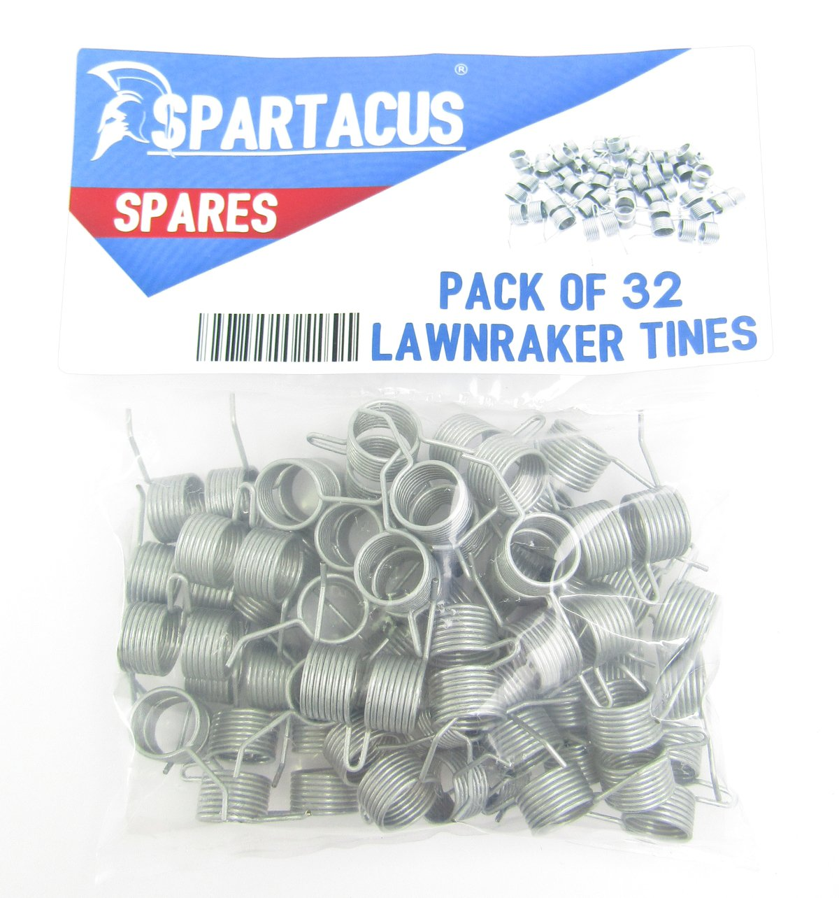 32 x Spartacus Replacement Lawn Raker Scarifier Tines Tynes For Bosch F016T47920