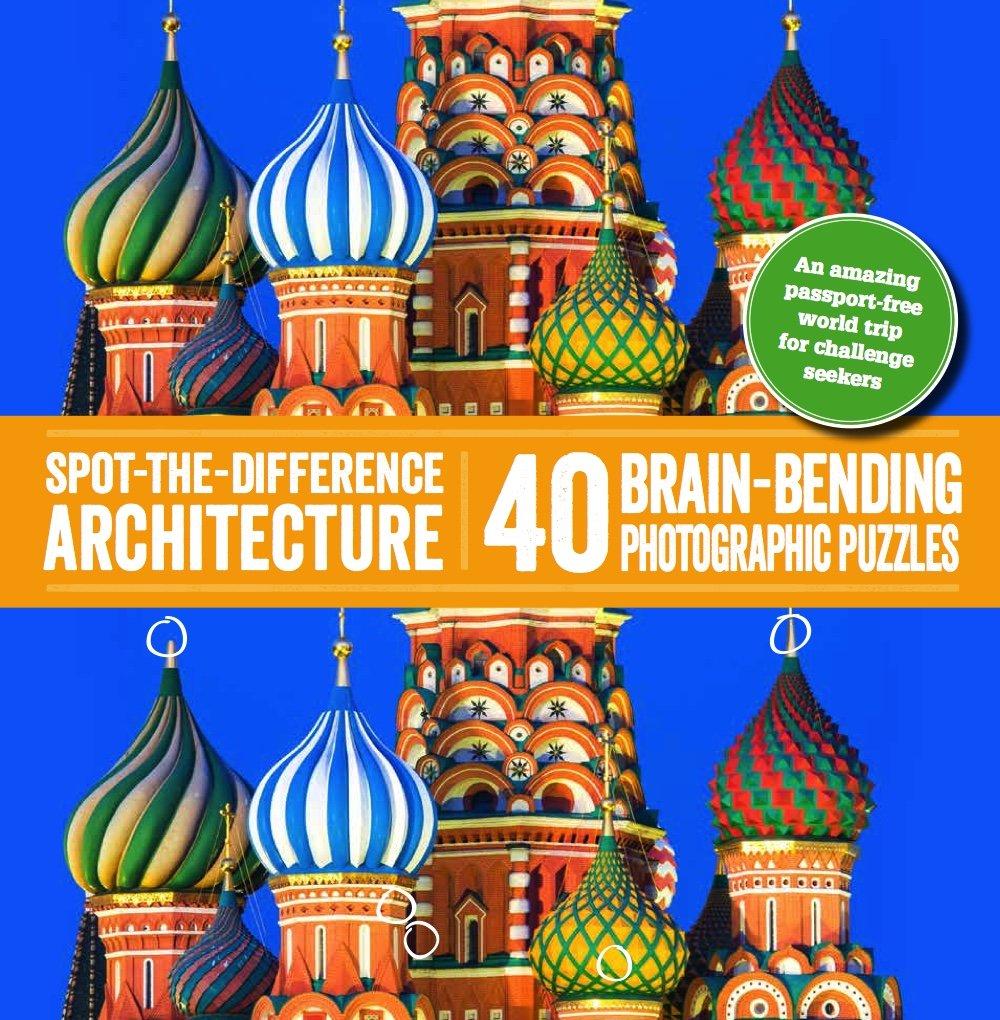 Download Spot-the-Difference Architecture: 40 Brain-Bending Photographic Puzzles PDF