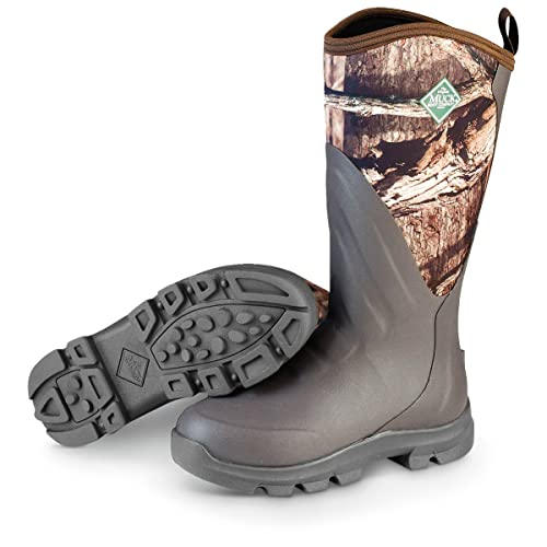 e075f9844a0 Muck Boots Mens Woody Grit Hunting Rubber 7 Brown Mossy WDC-INF ...