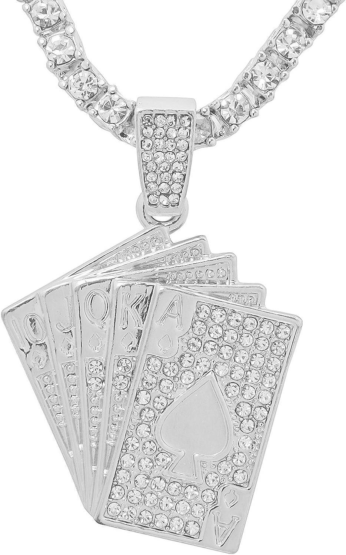DiamondJewelryNY Sterling Silver St Ronan Pendant
