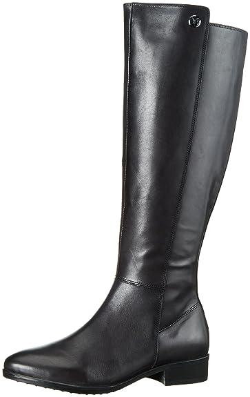 25513, Bottes Haute Femme, Noir (Black 001), 39 EUCaprice