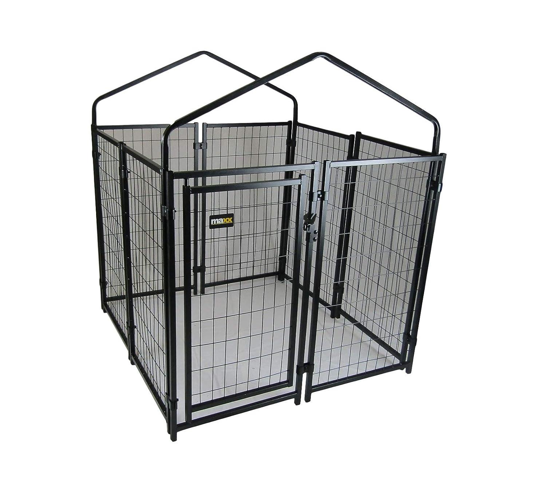 /chenils per Esterno con Tetto e Porta/ /Cuccia per Cane/ Maxx/ /1,2/x 1,2/x 1,35/m