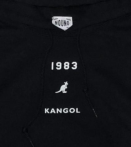 7599e29701c47 Amazon | KANGOL カンゴール スウェット パーカー 男女兼用 フロントポケット フロントプリント バックプリント カンゴール NOUNO  Wネーム NN1812 | トレーナー・ ...