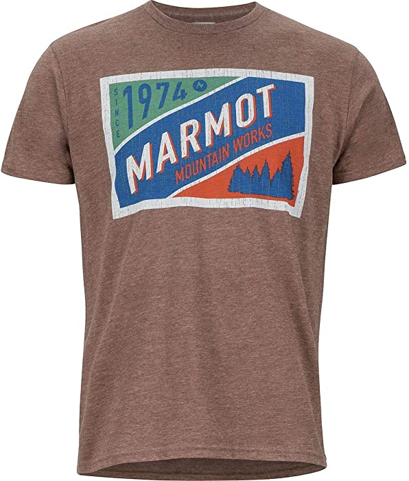 Bergsteigen & Klettern Marmot Mountain Tab Tee Herren Shirt