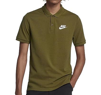 Nike Matchup Polo para Hombre, Hombre, 909746-399, Olive Flak/(