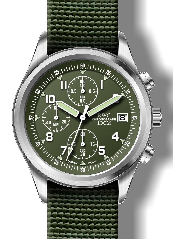 rwc301 X 1 Limited Edition Herren Military Style Chronograph von RWC