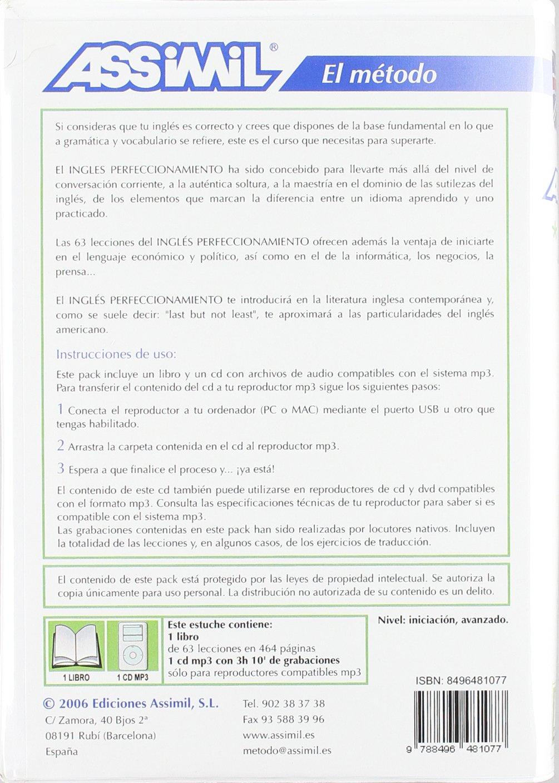 Inglés Perfeccionamiento Pack (+mp3): Amazon.es: Assimil-mp3: Libros