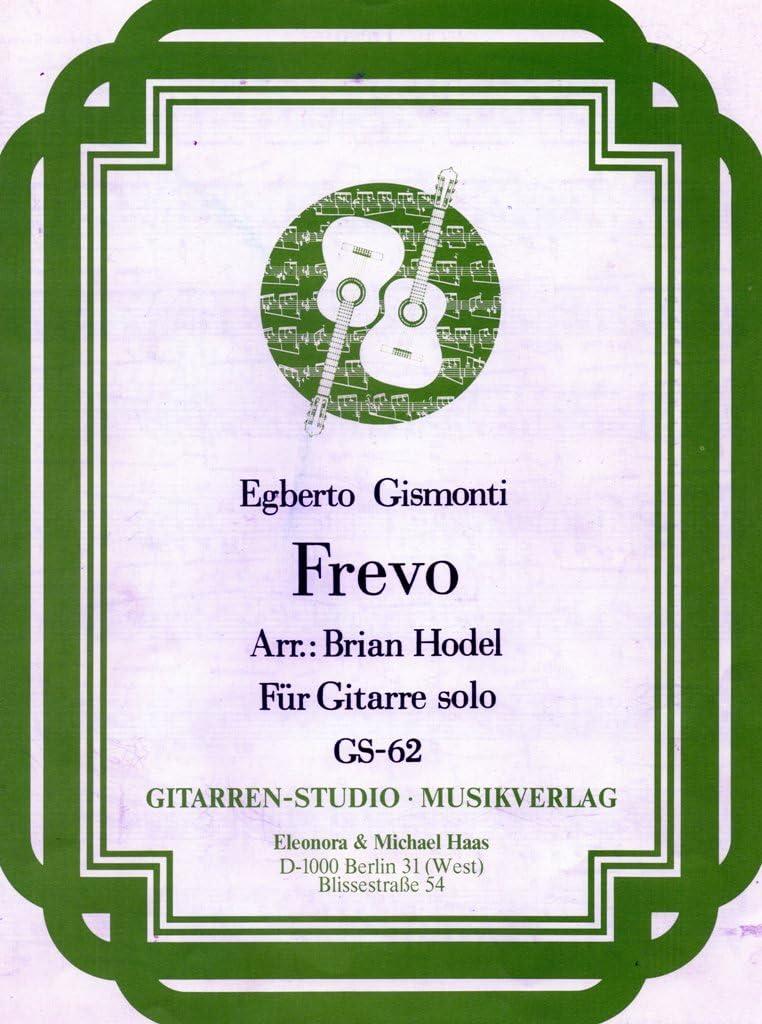 Frévo pour guitare de Egberto Gismonti: Amazon.es ...