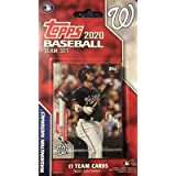 Washington Nationals 2020 Topps Factory Sealed Special Edition 17 Card Team Set with Juan Soto, Max Scherzer and Stephen…