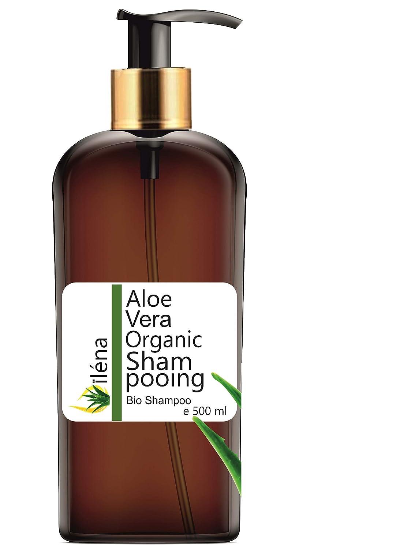 Champú Natural Ecologico con Aloe Vera, Argan, Vitaminas y Queratina (Keratina) con Ceramidas Naturales para Cabello - Pelo Dañado y Seco sin ...