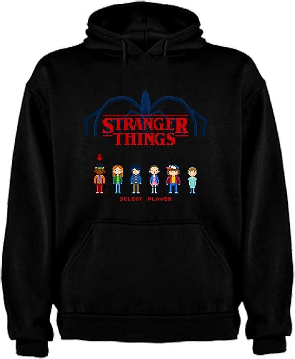 Sudadera de NIÑOS Stranger Things Serie Retro TV 80 9-11 Años