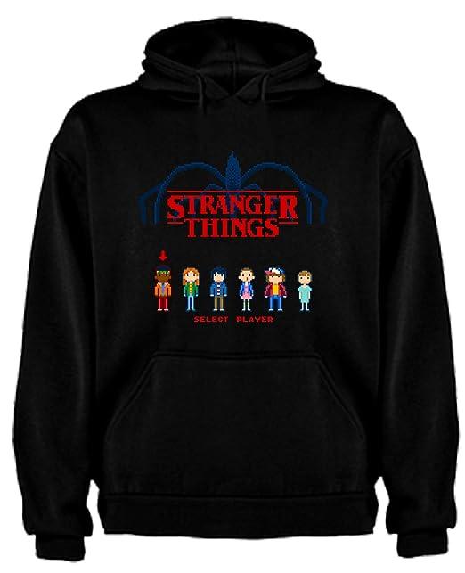 Sudadera de NIÑOS Stranger Things Serie Retro TV 80 14-15 Años: Amazon.es: Ropa y accesorios