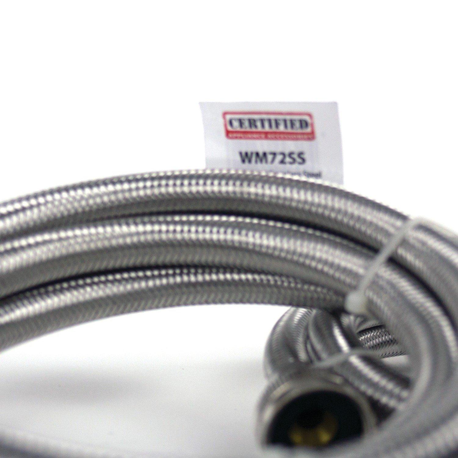 Certified Appliance Accessories Braided Stainless Steel Washing Machine Hoses, 6ft by Certified Appliance Accessories (Image #8)