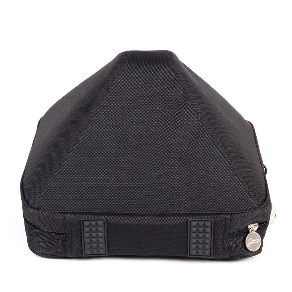 Jinchuan Deluxe French Horn Gig Bag Case Light Weight High Density Foam Padding E-6A Black by Jinchuan (Image #2)