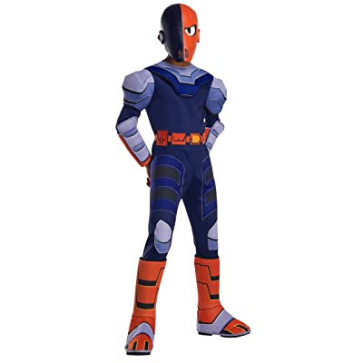 Boys Deluxe Teen Titan Go Movie Slade Costume: Clothing