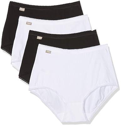 on sale united kingdom shopping Playtex Culotte Taille Haute (Lot de 4) Femme