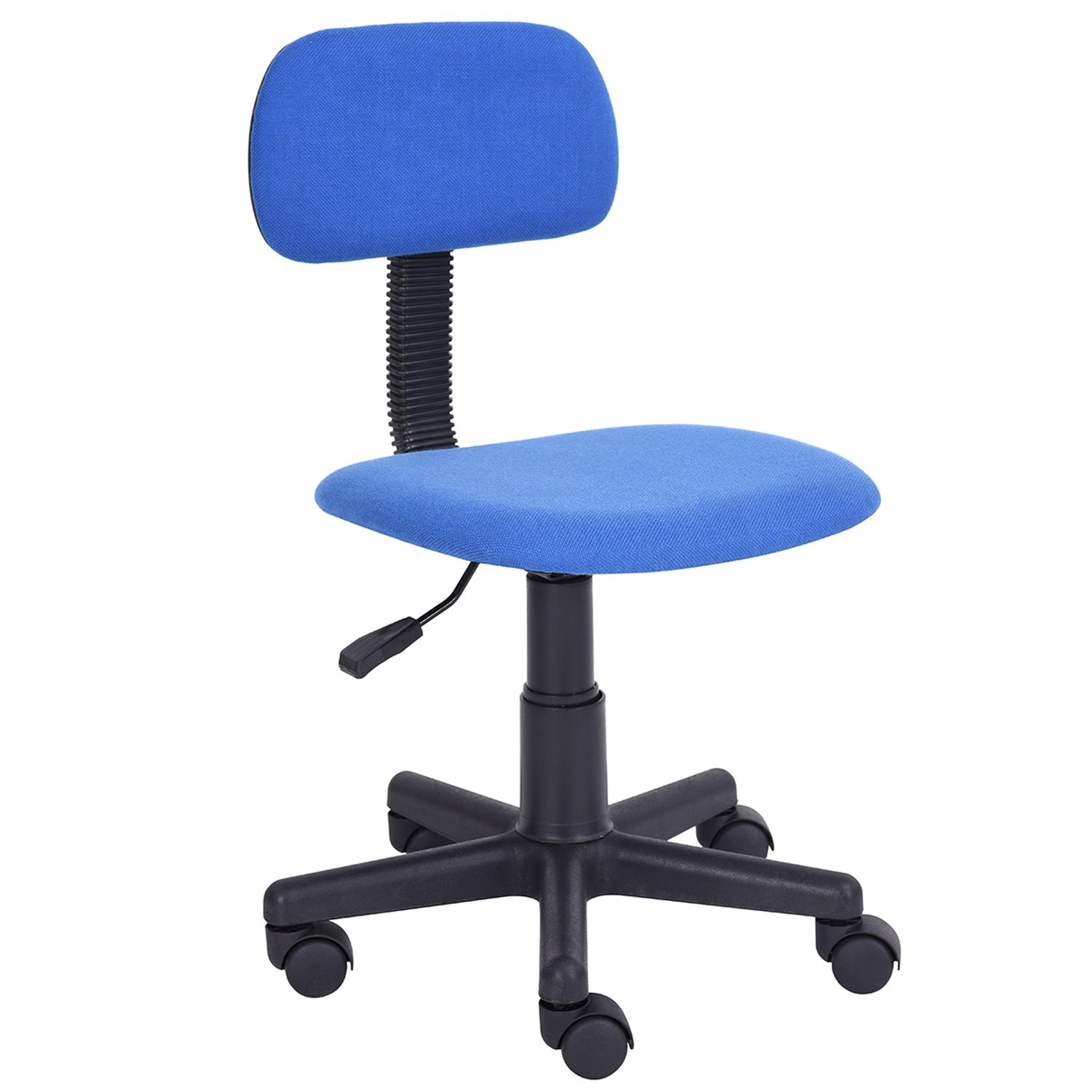 Homycasa Yanyan Mesh Mid-back Executive Adjustable Computer Task Desk Office Chairs (Blue)