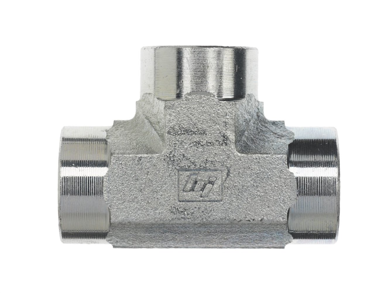 Brennan 5605-04-04-04-SS Stainless Steel Pipe Fitting 1//4 NPT Female Tee