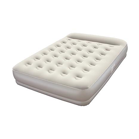 Amazon Com Bestway Raised Air Bed With Built In Pump Queen
